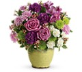 Teleflora's Spring Speckle Bouquet in Edmonton AB Petals For Less Ltd.
