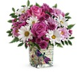 Teleflora's Wildflower In Flight Bouquet in Middle Village NY Creative Flower Shop