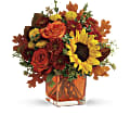Teleflora's Hello Autumn Bouquet in Los Angeles CA RTI Tech Lab