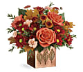 Teleflora's Copper Petals Bouquet in Los Angeles CA RTI Tech Lab
