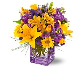 Teleflora's Morning Sunrise Bouquet in San Jose CA, Rosies & Posies Downtown