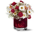 Teleflora's Scarlett Bouquet in Traverse City MI, Cherryland Floral & Gifts, Inc.