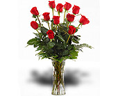 Walter Knoll's Classic Love Dozen Rose Bouquet in St. Louis MO, Walter Knoll Florist