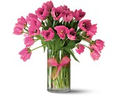 Teleflora's Precious Hot Pink Tulips - Premium in Brampton ON, Flower Delight