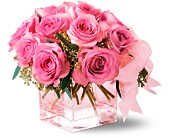 Teleflora's Pink on Pink Bouquet in Fairfield CT, Tom Thumb Florist