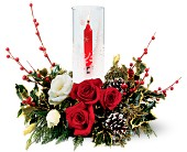 Teleflora's Winter Wonderland Bouquet in San Diego CA, Eden Flowers & Gifts Inc.