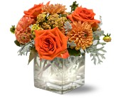Teleflora's Perfect Orange Harmony in Forest Hills NY, Danas Flower Shop