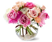 Teleflora's Roses on the Rocks in San Clemente CA, Beach City Florist
