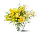 Teleflora's Delicate Yellow in San Clemente CA, Beach City Florist