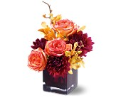Teleflora's Burgundy Bliss in San Clemente CA, Beach City Florist