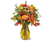 Golden Autumn in San Clemente CA, Beach City Florist