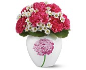 Teleflora's Sweet Mum Bouquet in New Britain CT, Weber's Nursery & Florist, Inc.