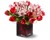 Teleflora's Modern Romance in Edmonton AB, Petals For Less Ltd.