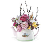 Peter Rabbit Teatime in Shoreview MN, Hummingbird Floral