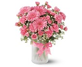 Purely Pinks in Longview TX, The Flower Peddler, Inc.