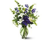 Teleflora's Green Inspiration Bouquet in Bound Brook NJ, America's Florist & Gifts