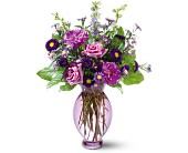 Teleflora's Lavender Inspiration Bouquet in San Jose CA, Rosies & Posies Downtown