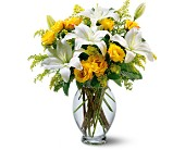 Teleflora's Pure Inspiration Bouquet in Warwick RI, Yard Works Floral, Gift & Garden