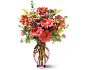 Teleflora's Pink Inspiration Bouquet in Newburyport MA, Denise's Flower Shop