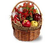 Health Nut Basket in Hollywood FL, Al's Florist & Gifts