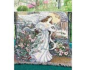 Angel Of Love Tapestry Throw in Ambridge PA, Heritage Floral Shoppe