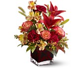 Teleflora's Indian Summer in San Clemente CA, Beach City Florist