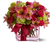 Teleflora's Cheers To You in San Jose CA, Rosies & Posies Downtown