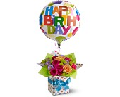 Teleflora's Happy Birthday Present in Pell City AL, Pell City Flower & Gift Shop