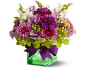 Teleflora's Cheerful Wishes in San Jose CA, Rosies & Posies Downtown