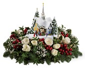 Thomas Kinkade's Chapel by Teleflora - Red in Mount Horeb WI, Olson's Flowers