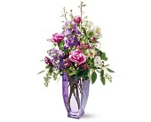 Teleflora's Amethyst Morning Bouquet in Murrieta CA, Michael's Flower Girl