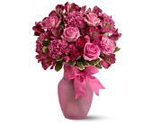 Pink Blush Bouquet in East Amherst NY, American Beauty Florists