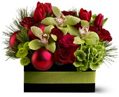 Holiday Chic in Forest Hills NY, Danas Flower Shop
