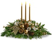 Royal Christmas Centerpiece in Pell City AL, Pell City Flower & Gift Shop