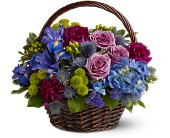 Twilight Garden Basket in New York NY, Fellan Florists Floral Galleria