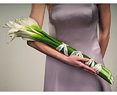 Calla Lily Bouquet in Abington MA, The Hutcheon's Flower Co, Inc.