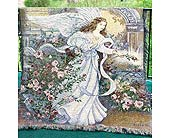 ANGEL OF LOVE TAPESTRY THROW in Pittsburgh PA, Frankstown Gardens
