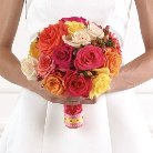 Round Bouquet in Augusta GA, Ladybug's Flowers & Gifts Inc
