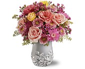 Teleflora's Silver Garden Bouquet in New Britain CT, Weber's Nursery & Florist, Inc.