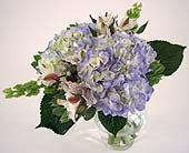 English Garden Bridal Bouquet in Indianapolis IN, Gillespie Florists