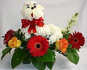 Dog Flower Arrangement in Compton CA, Villa Flowers