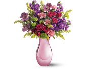 Teleflora's Joyful Garden Bouquet in Edmonton AB, Petals For Less Ltd.