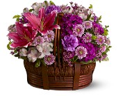 Basket of Bliss in New Glasgow NS, McKean's Flowers Ltd.