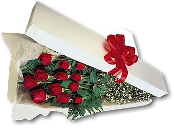 One Dozen Roses Boxed<br><font color=red>Local Onl, picture