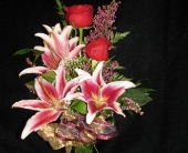 Lilies & Roses in Bismarck ND, Dutch Mill Florist, Inc.