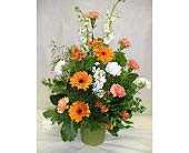 Sidetable Arrangement in Belleville ON, Live, Love and Laugh Flowers, Antiques and Gifts