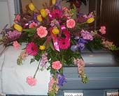 Casket Spray 01 in Purcell, Oklahoma, Alma's Flowers, LLC