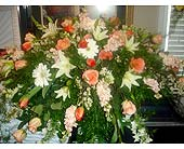 CASKET PIECE in Purcell, Oklahoma, Alma's Flowers, LLC