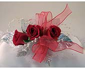 Red Sweet Heart Rose Corsage in Indianapolis IN, Gillespie Florists