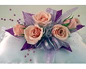 Five Sweet heart rose corsage in Indianapolis IN, Gillespie Florists